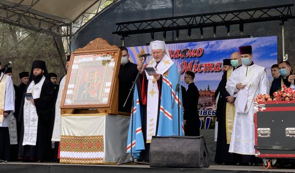 В Івано-Франківську відбувся екуменічний молебень з нагоди Дня міста