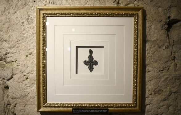 У підземеллі львівського храму відкрили виставку реліквій XII-XV століть