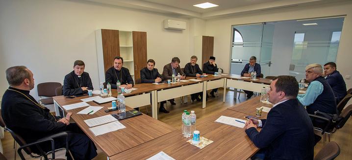 Всеукраїнська Рада Церков обговорила низку заходів до свого 25-річчя