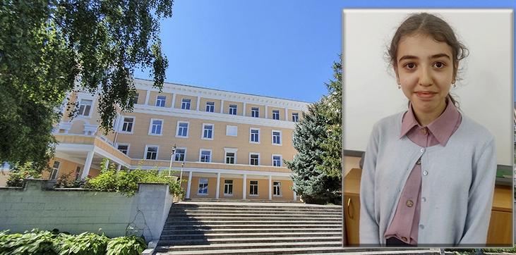 Учениця єврейської школи Дніпра увійшла в десятку кращих у світі знавців єврейських букв і цифр