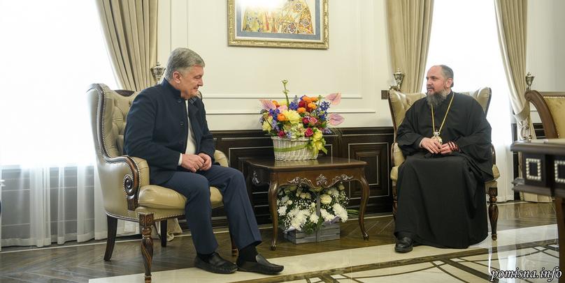 Прем'єр-міністр і екс-президент України привітали главу ПЦУ з іменинами