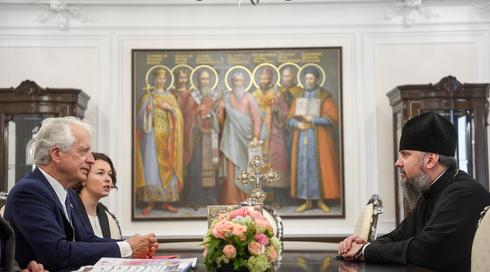 Глава ПЦУ обговорив з президентом Асоціації американських конгресменів становлення помісної церкви