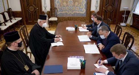В офісі президента відбулася зустріч з підготовки візиту Вселенського патріарха в Україну