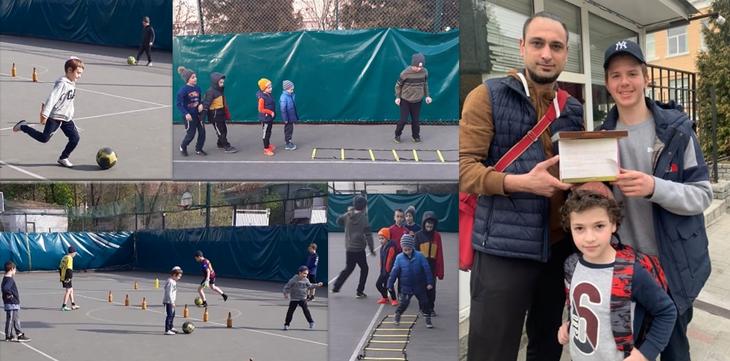У Дніпрі на базі єшиви створена дитяча футбольна команда