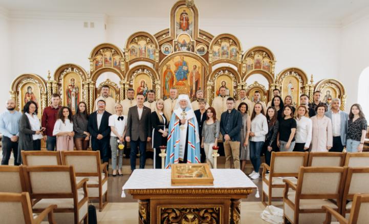 В Івано-Франківську вперше організували «Медіасніданок з митрополитом» УГКЦ