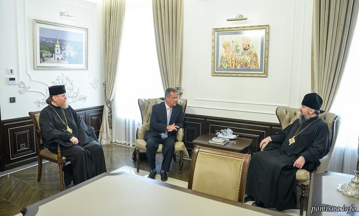 Глава ПЦУ обговорив співпрацю з президентом Українського конгресового комітету Америки