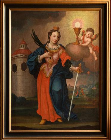 В Україну зі Швеції передано картину «Свята Варвара»