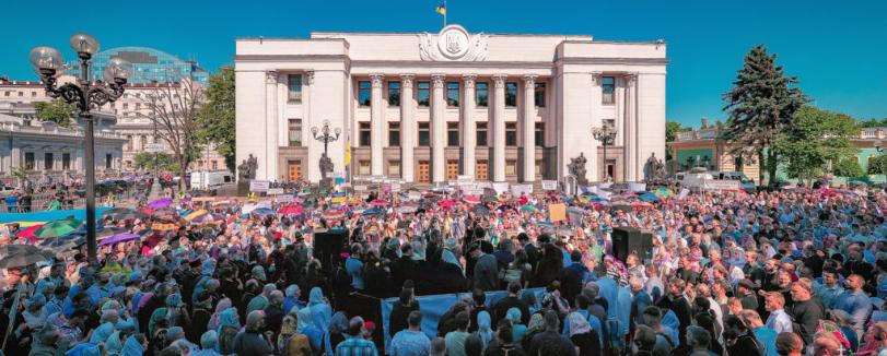 """Донецький бізнесмен заснував рух віруючих """"Миряни"""", який здивував Зеленського"""