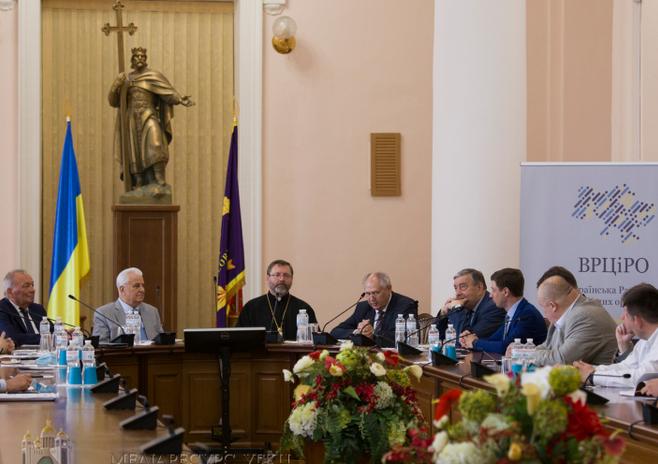 В Києві відбувається конференція «Роль і місія Всеукраїнської ради Церков і релігійних організацій у встановленні громадянського суспільства та української державності»