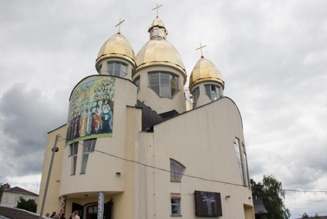 На Львівщині греко-католики освятили храм Всіх святих українського народу