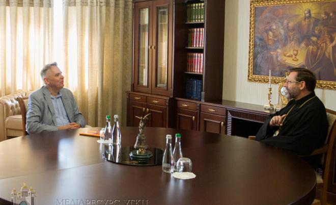 Глава УГКЦ – послу  Нідерландів: «Києвоцентричність є частиною ідентичності УГКЦ»