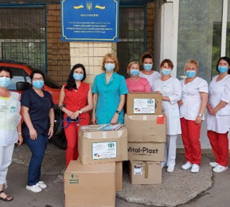 Мормони і адвентисти забезпечили 27 медичних закладів України засобами індивідуального захисту та кисневими масками