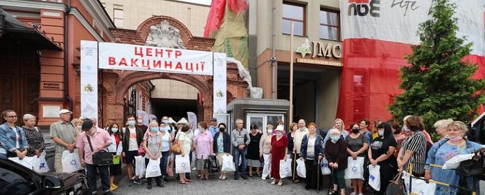 Розпочалась програма вакцинації єврейських громад України