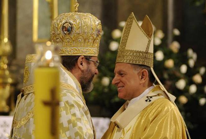 Глава УГКЦ привітав римо-католиків з 30-річчям відновлення їх структур в Україні