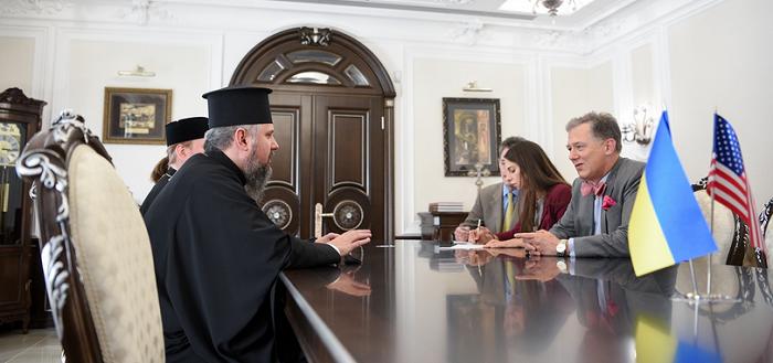 Митрополити ПЦУ і УПЦ (МП) обговорили з дипломатами питання релігійної свободи