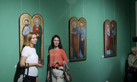 У львівському музеї виставили відреставровані ікони Модеста Сосенка