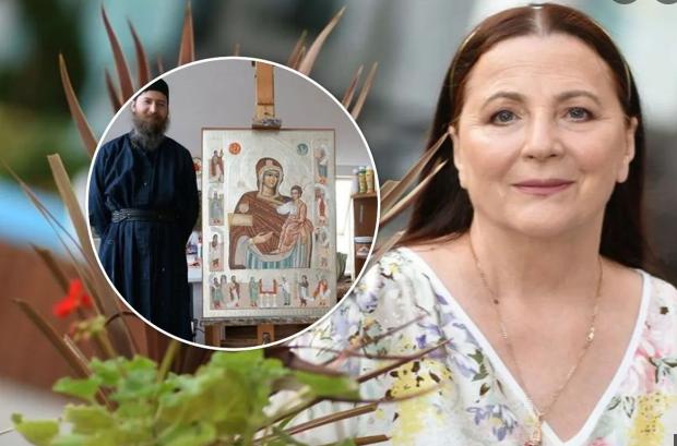 Народна артистка Ніна Матвієнко благословила сина піти в ченці
