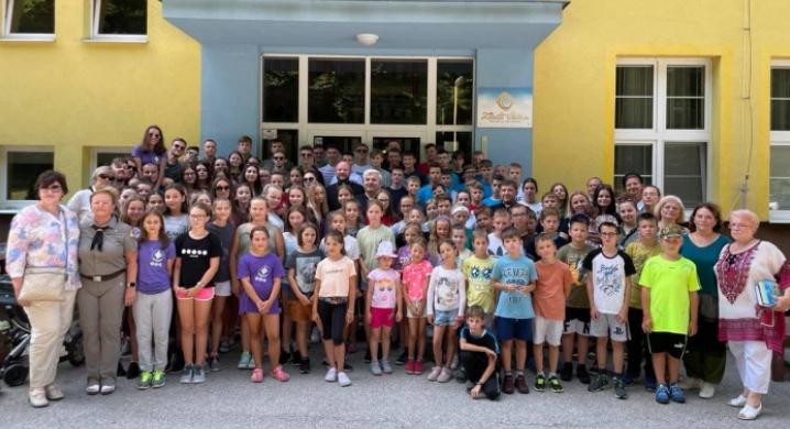 Єпископ УГКЦ і посол України відвідали скаутський табір для юних українців Словаччини