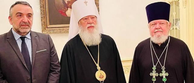 Митрополит УПЦ (МП) закликає владу Греції «посприяти залагодженню розколу» в Україні