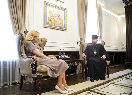Предстоятель ПЦУ обговорив з головою Івано-Франківської ОДА співпрацю у соціальній сфері