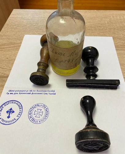 До собору УГКЦ в Чернівцях повернуто раритетні печатки