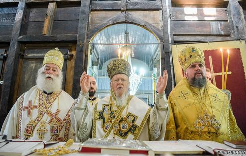 Глава ПЦУ разом з патріархами відзначив ювілей служіння Вселенського патріарха