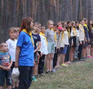 На Київщині сотня дітей-адвентистів провела час у літньому таборі слідопитів