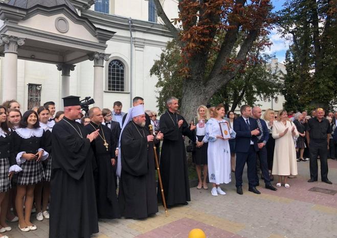 На Алеї зірок Тернополя встановили зірку на честь глави УГКЦ