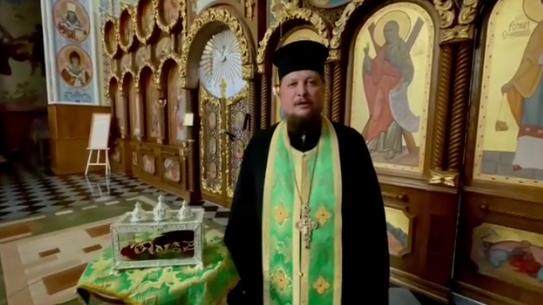 Святиню з Греції передали в собор ПЦУ в Рівному