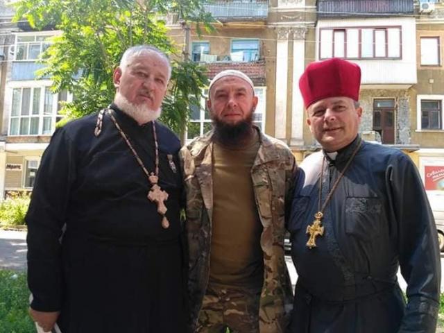 Імам-капелан Мурад Путилін: «У капеланів-мусульман дуже міцні взаємини з капеланами-християнами»