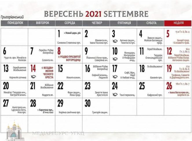 Всі громади УГКЦ в Італії переходять на григоріанський календар