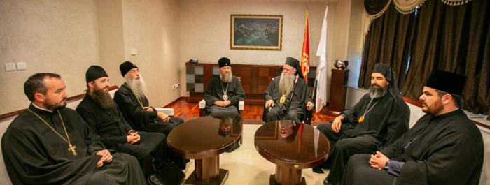 Делегація УПЦ (МП) взяла участь в інтронізації сербського митрополита в Чорногорії