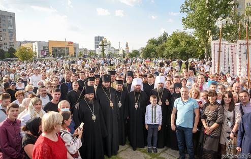 Глава ПЦУ освятив місце будівництва нового кафедрального собору у Львові