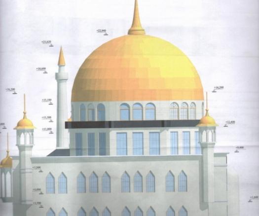 Розпочато будівництво першої одеської мечеті з мінаретами