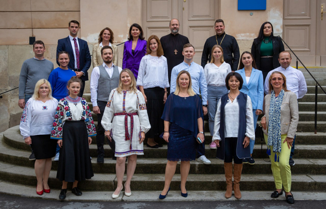 Українці – католики і православні – відкрили у Відні «Barbareum Open Space»