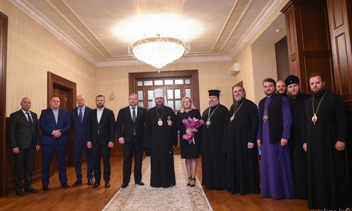Керівництво ПЦУ обговорило з керівництвом Харківщини релігійну ситуацію в регіоні