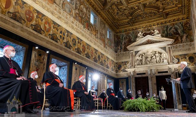 Президент Італії до глави УГКЦ: «Італія солідарна з Україною»