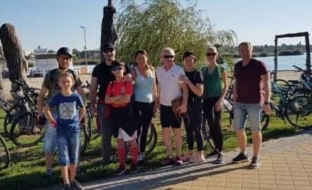 Греко-католики Угорщини вперше організували велопробіг з нагоди 30-річчя Незалежності України