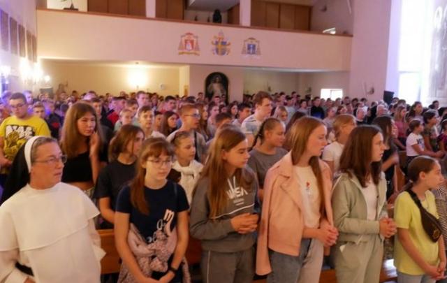 400 молодих католиків зібралися на ХIX День молоді Львівської архідієцезії