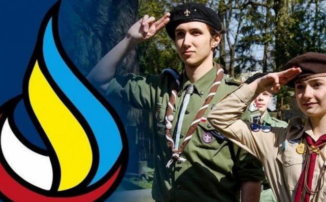 Українські пластуни та гарцери у Польщі отримали відзнаку блаженного Омеляна Ковча