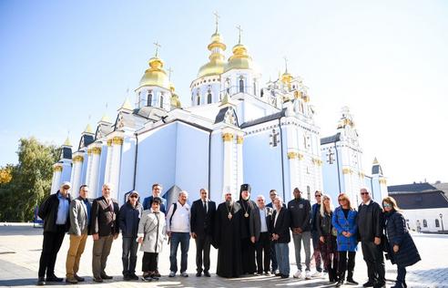 Митрополит Епіфаній обговорив з делегацією зі США розвиток релігійної свободи в Україні