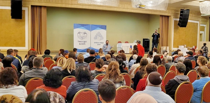 Теолог Пінхас Полонський відвідав Дніпро з нагоди виходу його книг «Біблійна динаміка» українською мовою