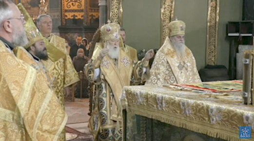 Ієрарх одного з Синодів Істинно-Православної Церкви Греції співслужив Філарету в Києві