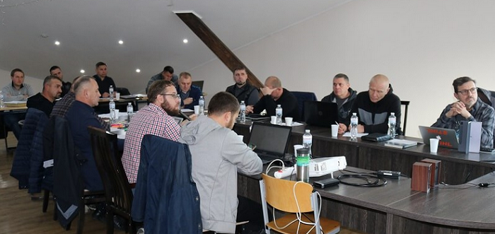 Місіонери-баптисти, що працюють поблизу лінії розмежування на сході України, зібралися на семінар
