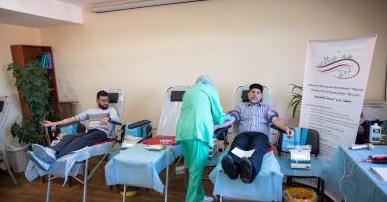 Мусульмани столиці зібрали 25 літрів крові для обласного центру служби крові