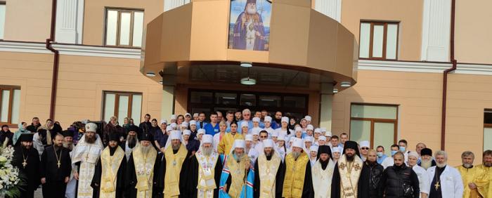 Глава УПЦ (МП) освятив медичний центр при Банченському монастирі