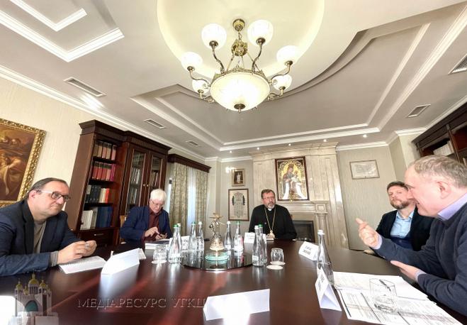 Глава УГКЦ провів зустріч з провідними науковцями і філософами України